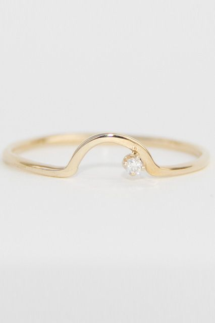 Unique Engagement Rings Wedding Bands Offbeat bride Ring and Unique