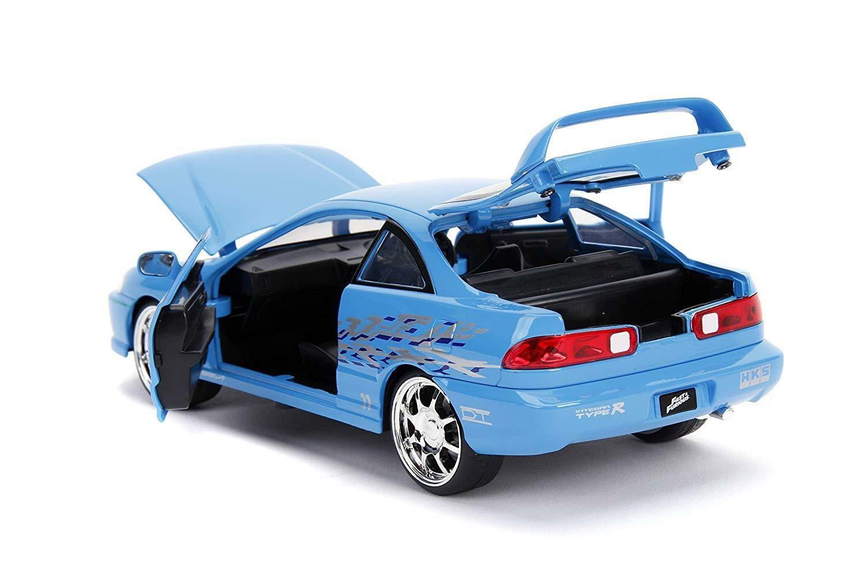 Fast /&Furious Blue JADA 98271 1//24 2009 Nissan GT-R R35 Diecast Car Model W//Case