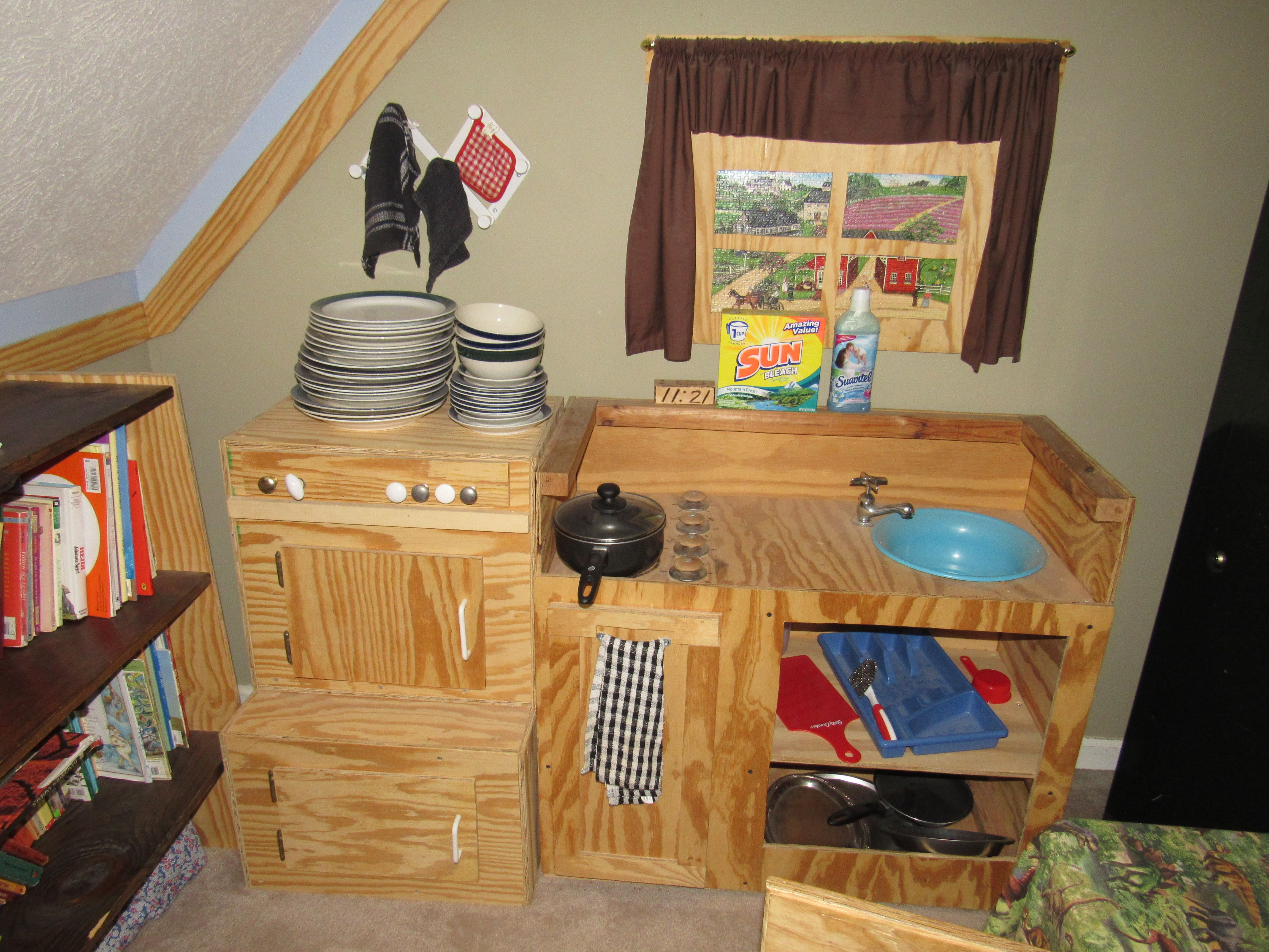 Playroom Kitchenette