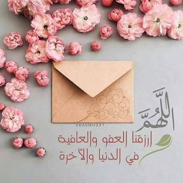 لو ر زق المخلوق أطيب الطيبات فلن يجد أطيب من العافية اللهم أنعم علينا بعفوك وعافيتك Arabic Quotes Arabic Love Quotes Floral