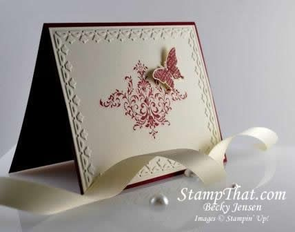 Stampin' Up! Sale-A-Bration 2011 - Bliss Stamp Set