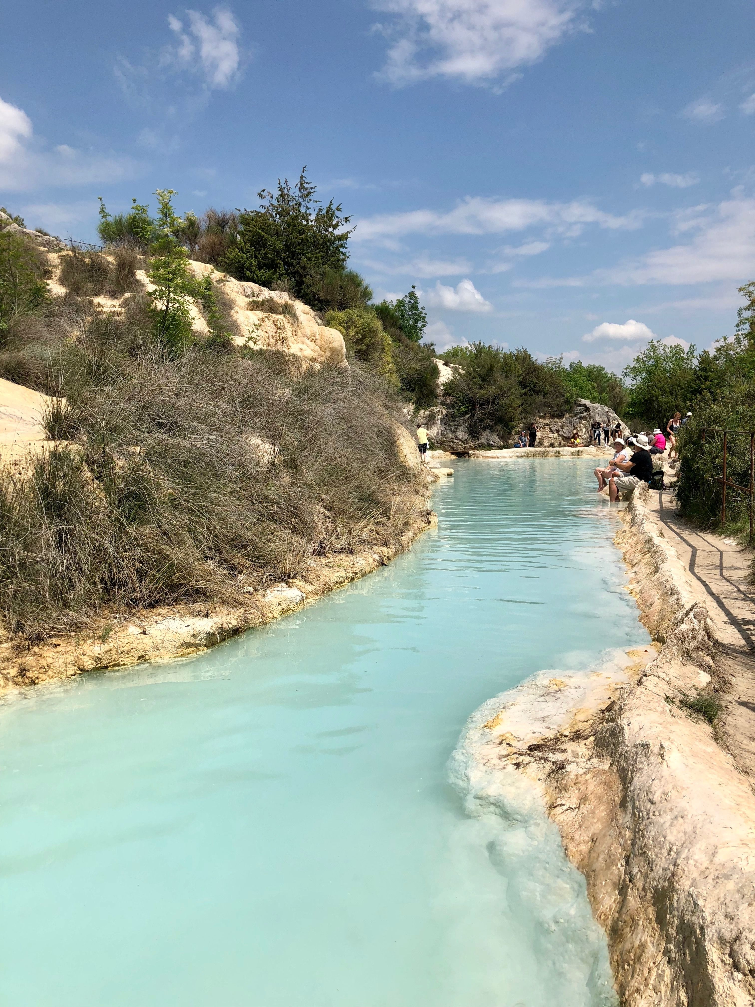 Terme Bagno Vignoni Tuscany Italy With Images Travel