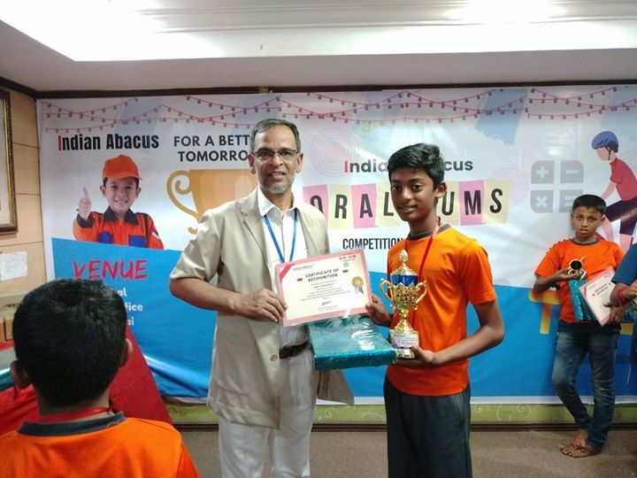 Indian Abacus Oral Sums Competition 2020