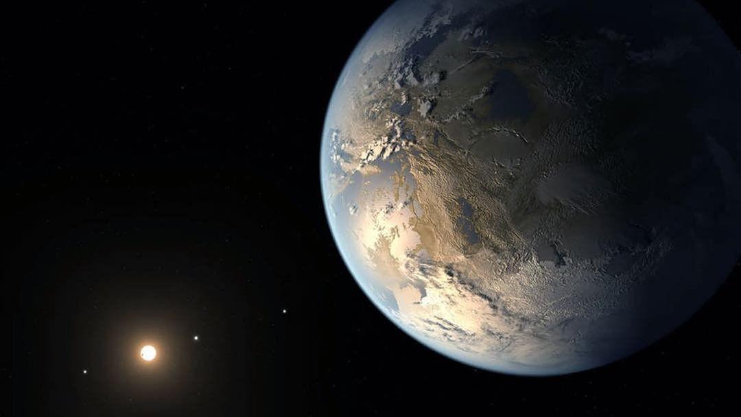 Distant planet found