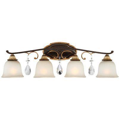 Metropolitan by Minka Chateau Nobles 4 Light Vanity Light