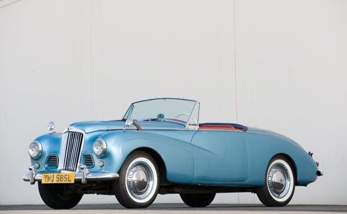 1953 Sunbeam Alpine The Same Car Driven By Cary Grant And Grace Kelly In