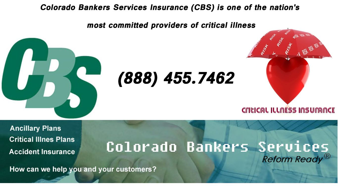 Colorado bankers services insurance cbs is one of the