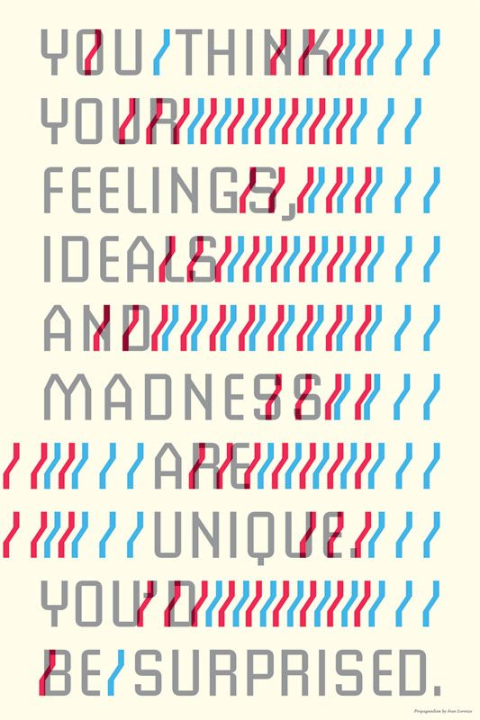 """""""You think your feelings, ideals and"""" - A Giclée Print by PrøPagandism"""
