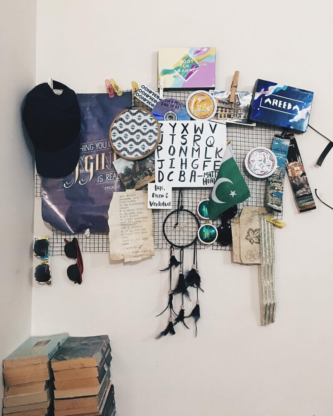 The mood board in my room is growing noor unnahar on for Indie wall art ideas