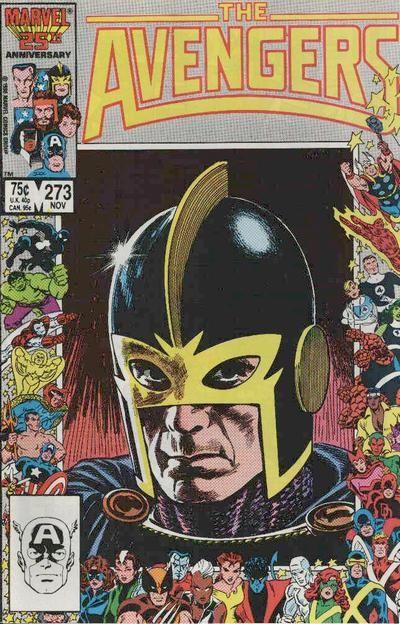 Avengers # 273 by John Buscema, Tom Palmer & John Romita