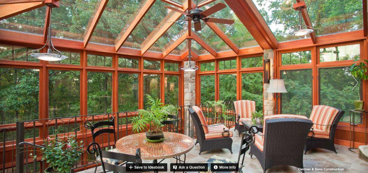 Pin by Elba Feliciano on Outdoor Sunroom designs, Garden