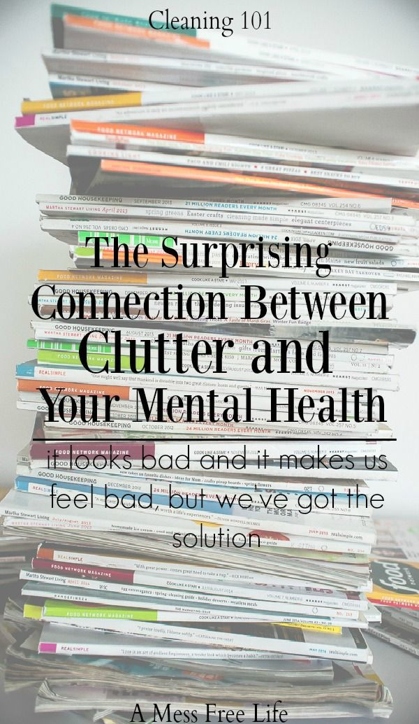 The Surprising Connection Between Clutter and Your Mental Health #declutter