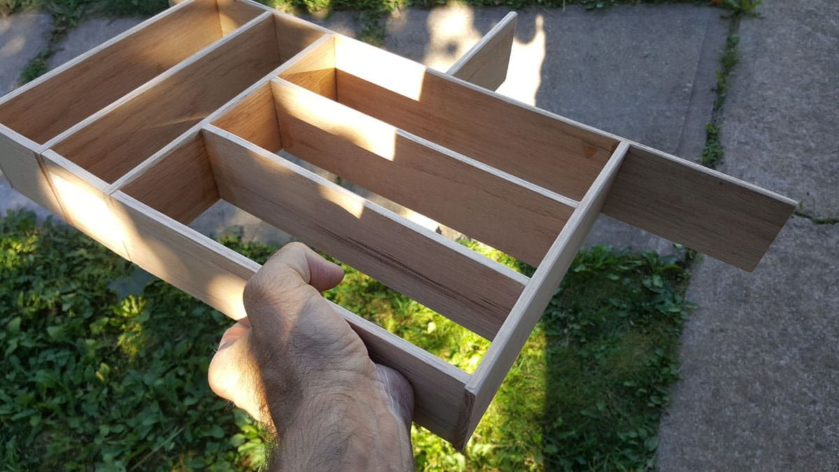 Besteckkasten Fur Schublade Selbst Bauen Besteckkasten Besteckkasten Holz Schublade Selber Bauen