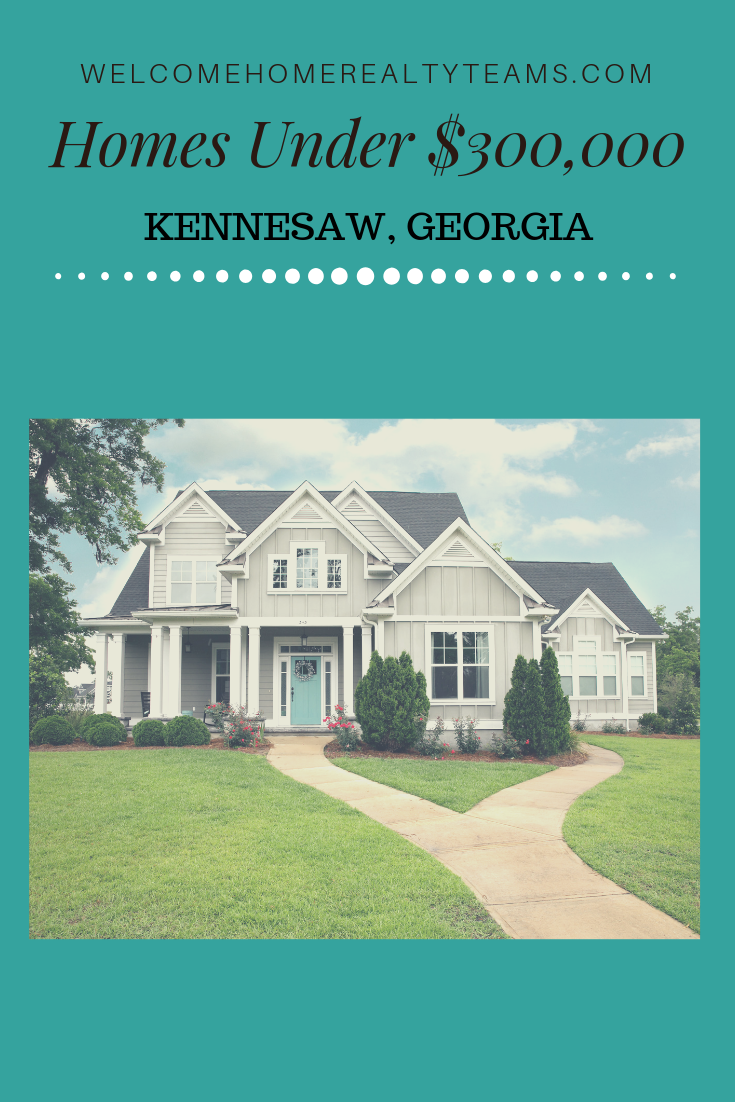 These Kennesaw Georgia Real Estate Listings Are All Kennesaw Georgia Homes For Sale Under 300 000 Sor Property Search Georgia Homes For Sale Georgia Homes