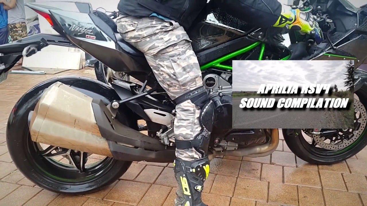 Kawasaki Ninja H2h2r Exhaust Sound Compilation Automotorsport