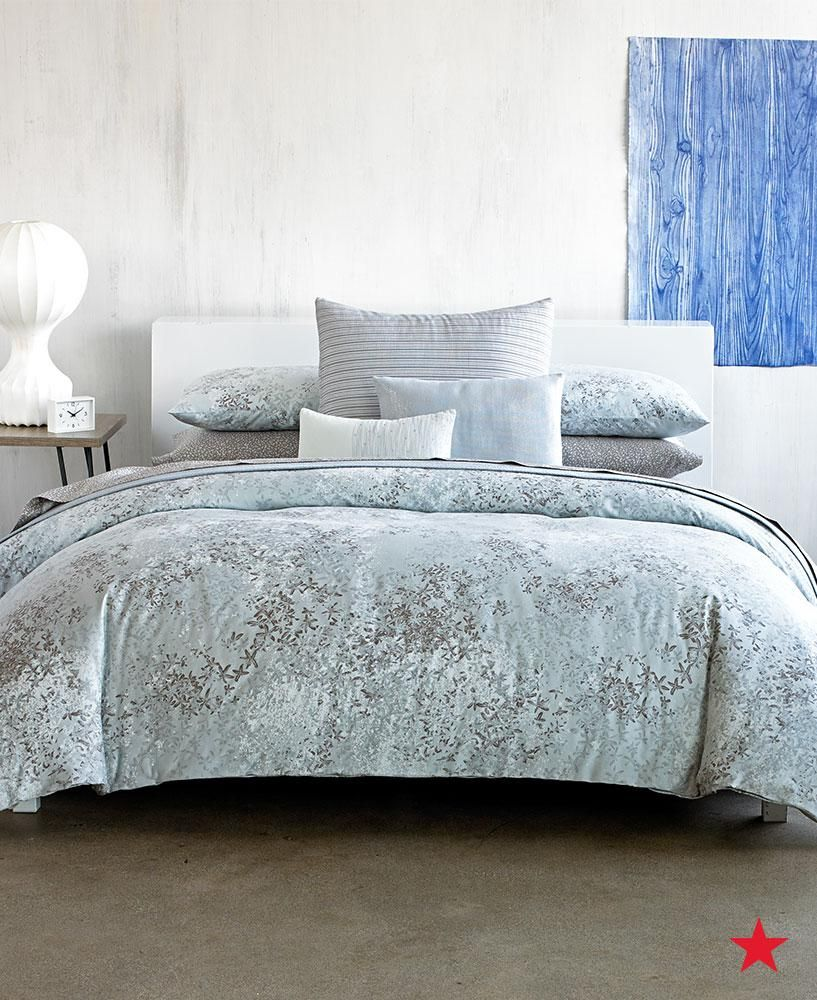 Instantly Elevate Your Bedding With Rich Textures And Sheen Check Out Calvin Klein S Presido Bedding Collection Available Bed Bedding Collections Home Decor