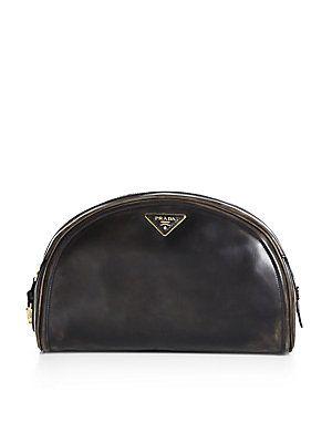 ea1dda2bbbb8 A little #vintage - #Prada Vitello Vintage Bowler Clutch   Bag ...