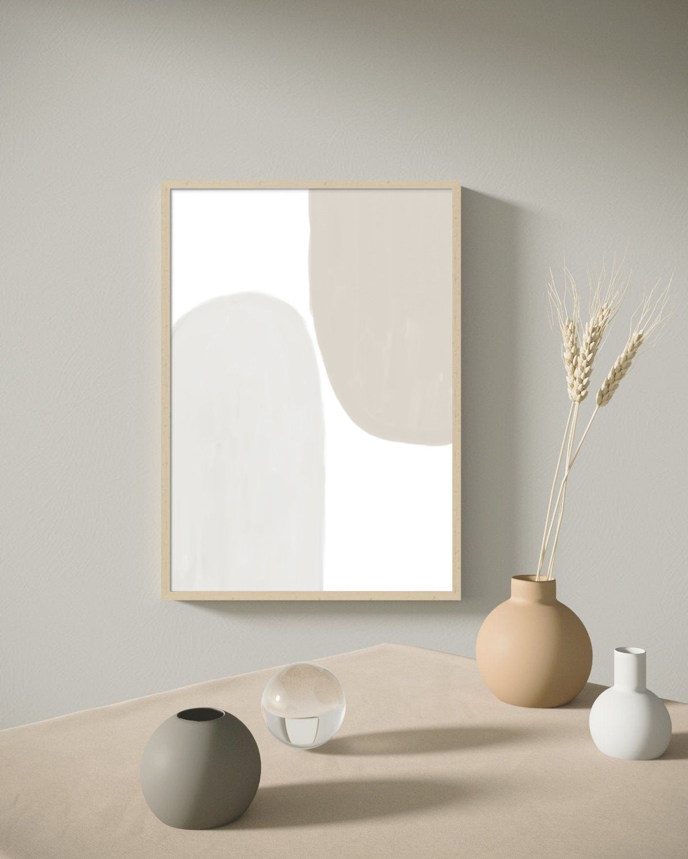 Modern Minimalist Print Neutral Art Print Beige Abstract Etsy In 2021 Minimalist Wall Decor Wall Art Living Room Wall Printables