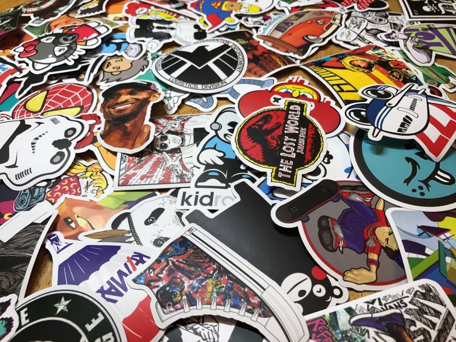 100 Pcs Sticker Pack Cool Vinyl Sticker Lot Aesthetic Computer Stickers Tumblr Stickers Cute Travel Sticker Pun Computer Sticker Stickers Packs Sticker Bomb [ 1200 x 1600 Pixel ]
