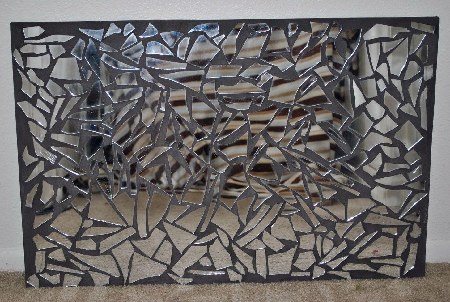 Mirror Mosaic Wall Art