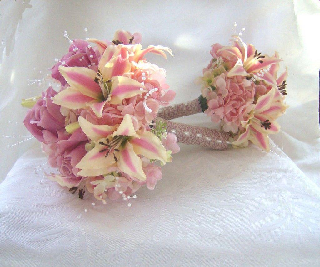 Rosa Hortensie Brautstrauss Wedding Inspiration Pinterest