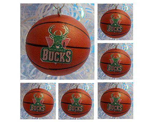 Final Touch Gifts Milwaukee Bucks Christmas Ornament