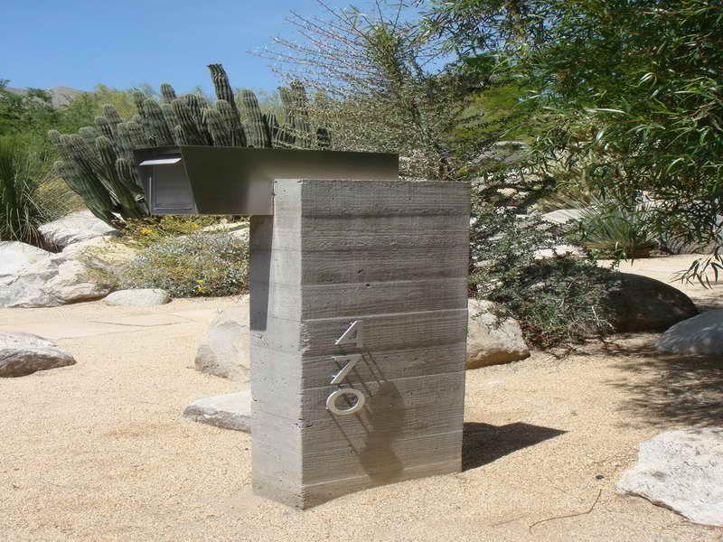 Modern Mailboxes In Desert In 2019 Modern Mailbox