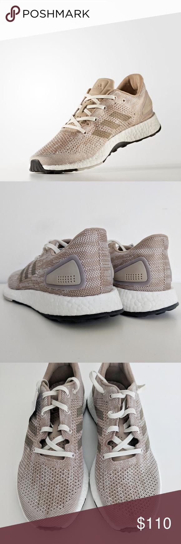 383cfd83b2616 Adidas Men s PureBoost DPR Running Shoe Beige Sz 9 Adidas Men s Size 9  PureBoost DPR Running Shoe - Trace Khaki S82013 Mens Adidas PureBOOST DPR -  S82013 ...