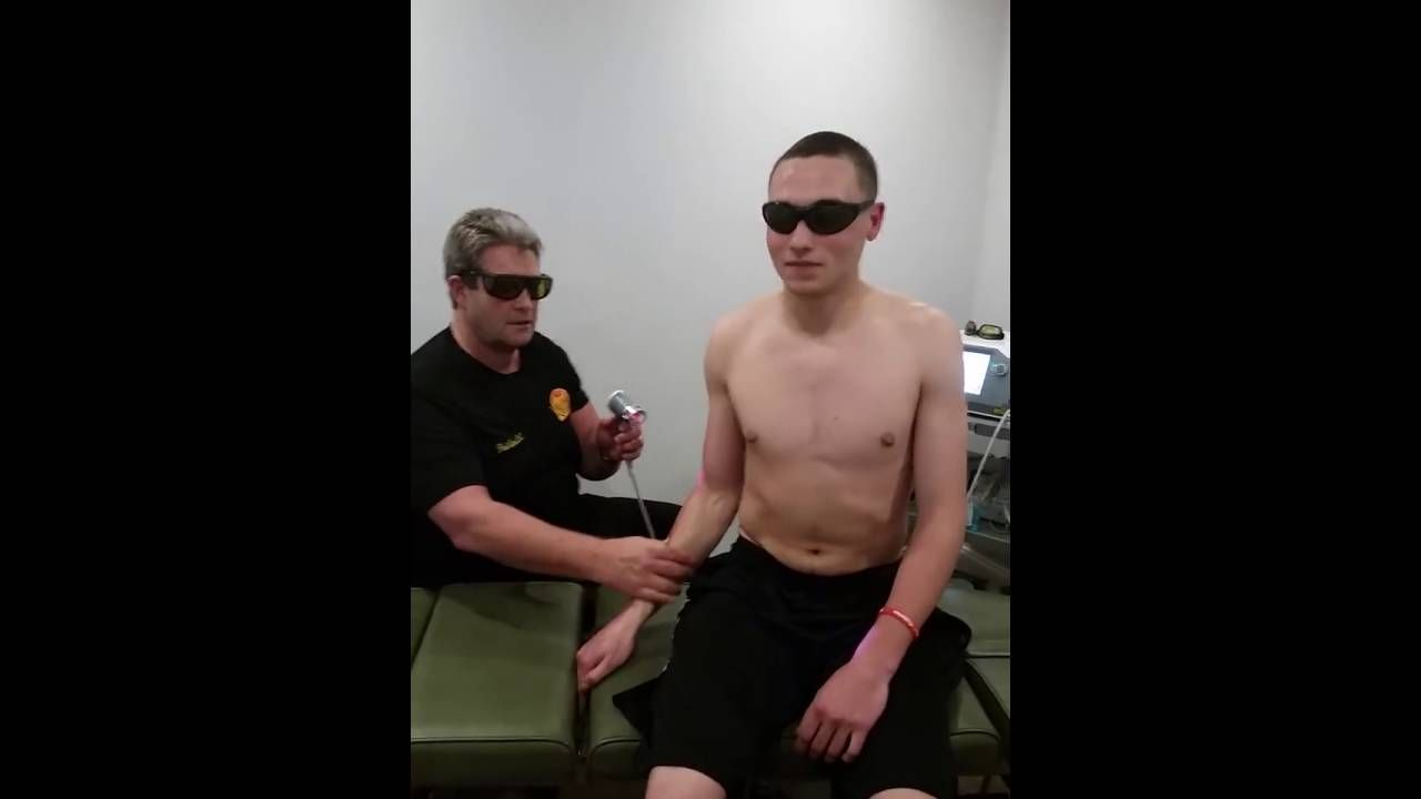 Jarretts remarkable recovery with laser therapy no