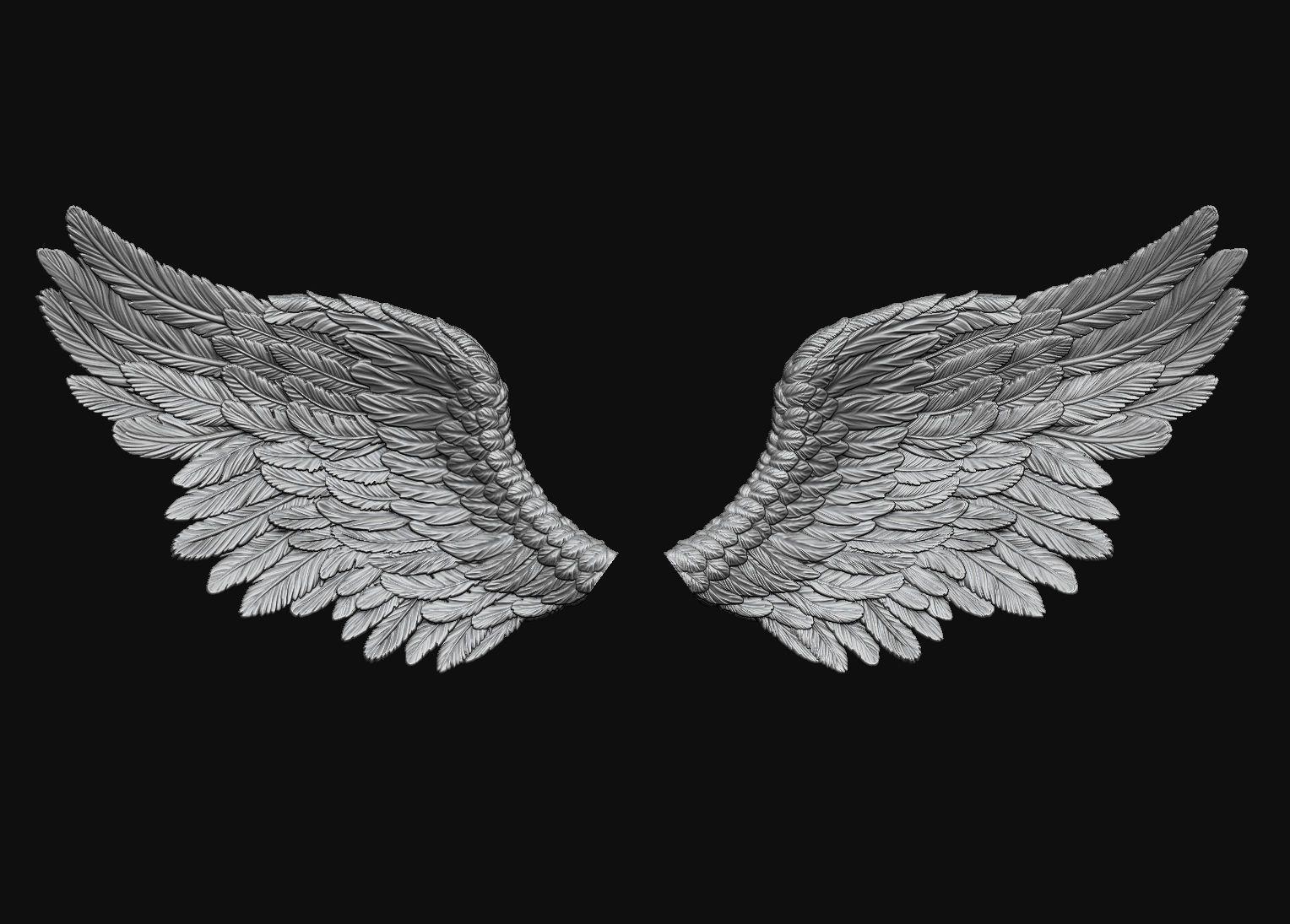 Wings Printable 5 3d Print Model Angel Wings Art Wings Wallpaper Wings Art