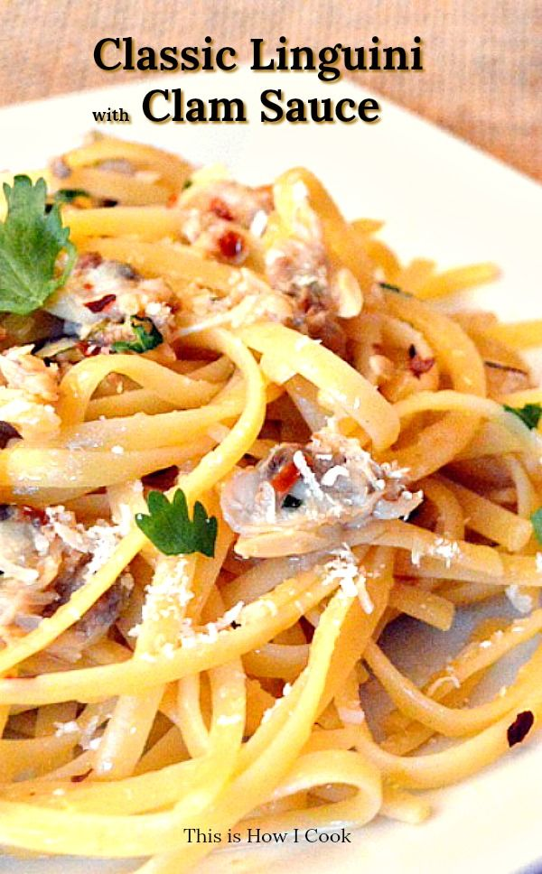 Photo of The Best Linguini and Clam Sauce