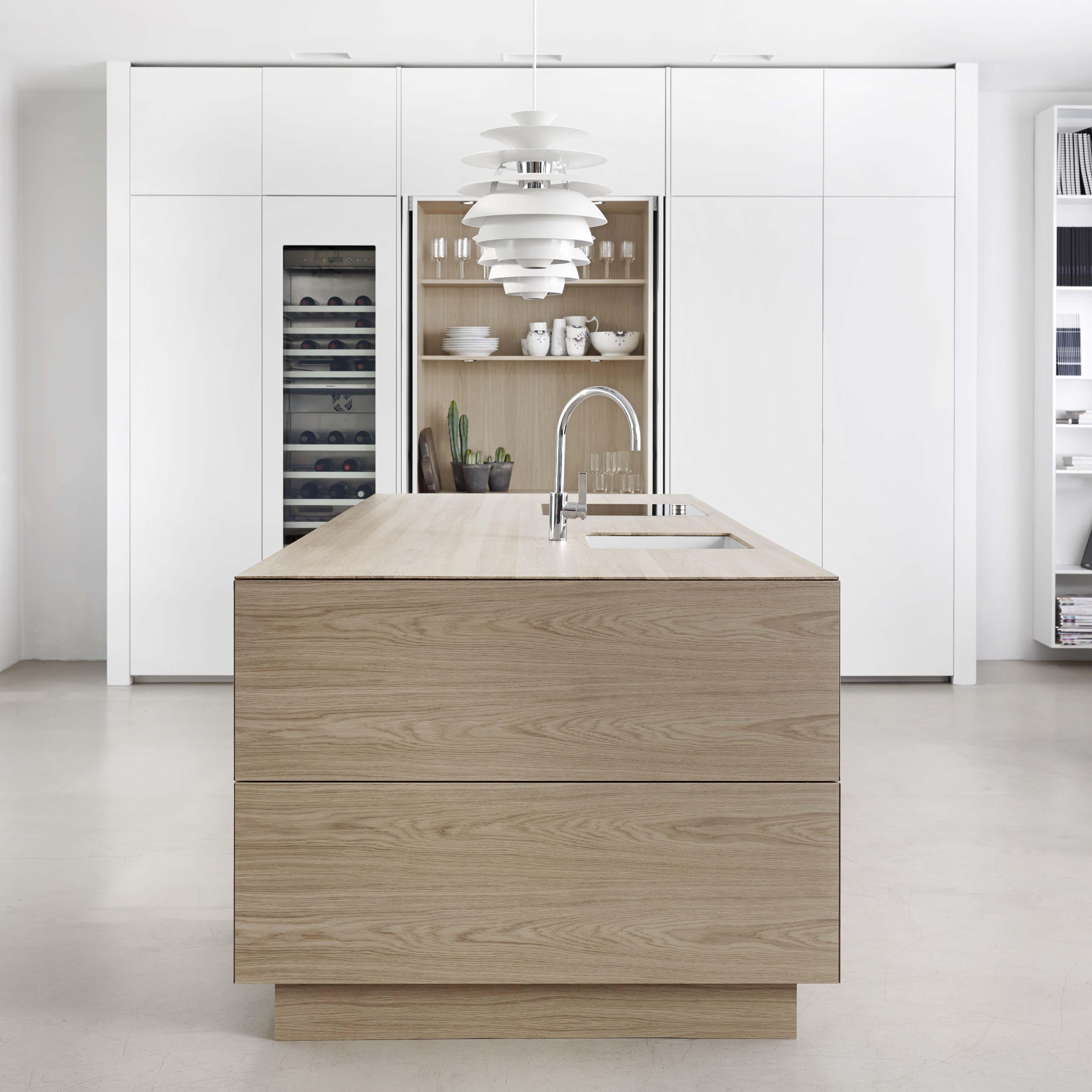 Best Form 45 White Pigmented Oak Kitchen By Multiform 400 x 300