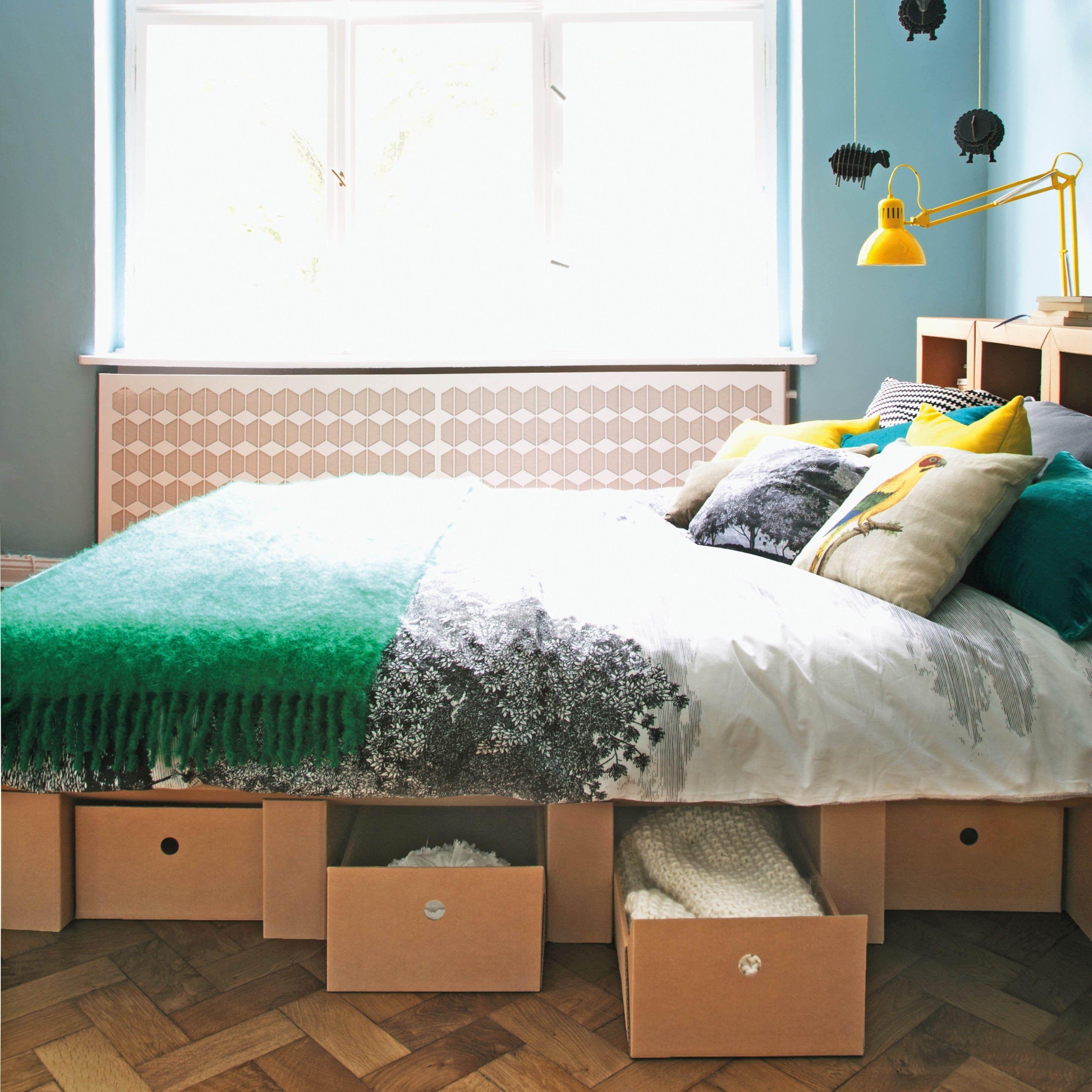 Bett Aus Pappe Online Bestellen Bei Stange Design   Pappmöbel U2013 Shop Für  Möbel Aus Pappe