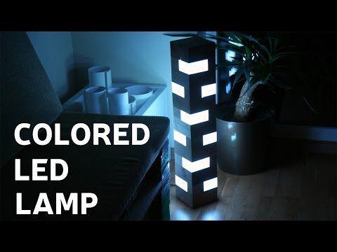Make an LED illusion mirror 2.0! 2017 New - YouTube