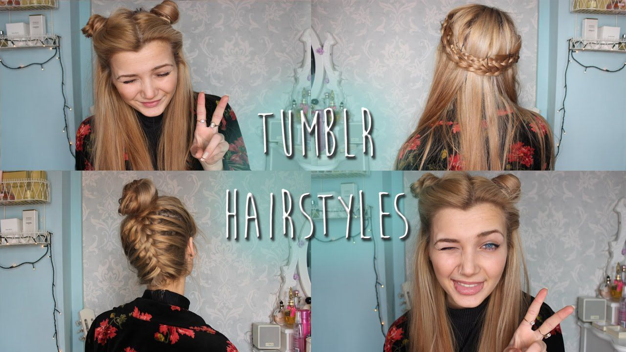 tumblr inspired hairstyles hair pinterest hair styles