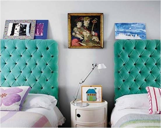 Dual Twin Headboards, www.designsbykaty.com