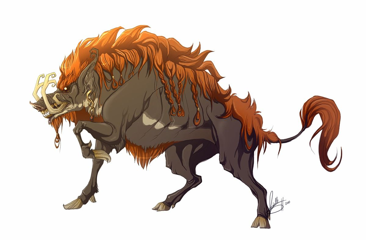dark beast ganon my design by adoobibull