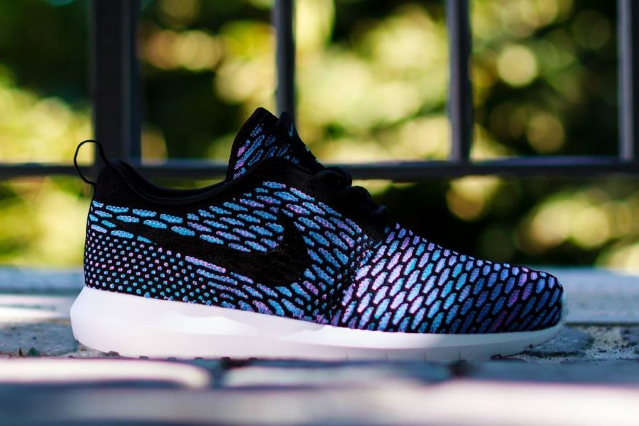 a9f046fd562f ... greece nike flyknit roshe run black neo turquoise a6a93 d3177