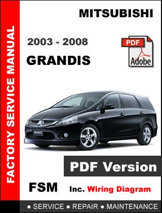 [EQHS_1162]  MITSUBISHI GRANDIS 2003 2004 2005 2006 2007 2008 SERVICE REPAIR WORKSHOP  MANUAL | Mitsubishi Grandis Wiring Diagram |  | Pinterest