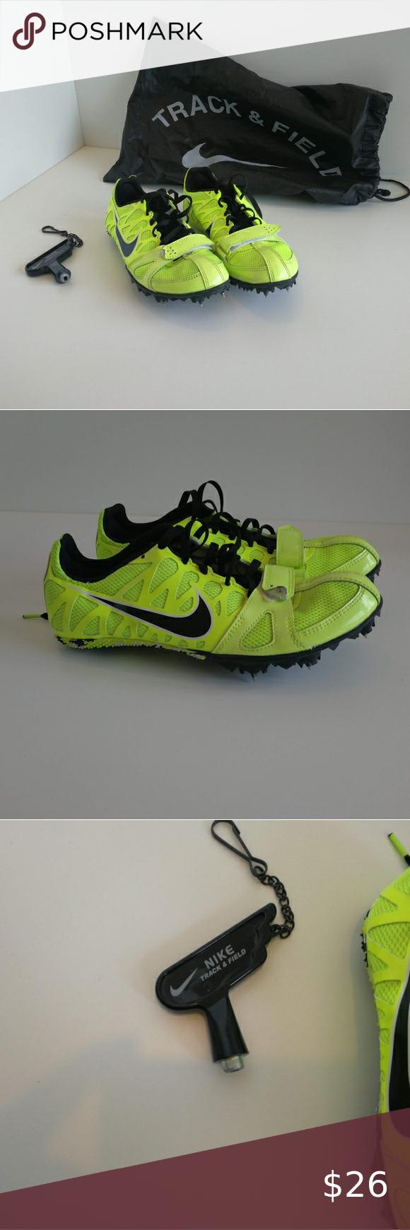 Nike Boys size 4, Neon Yellow Soccer