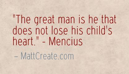 Quote of the Day  ★ Like this?  Sharing is caring!★  #QuoteOfTheDay #Quote #qotd  #MCqotd  <— Click for my previous quotes of the day.  #Mencius #Success #Happiness #Life