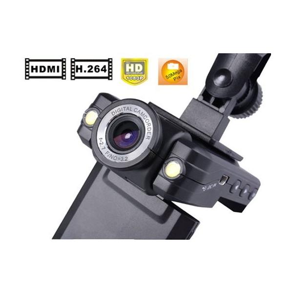 Camara hd 1080p de coches seguridad led monitor y grabador - Camaras de seguridad para casa ...