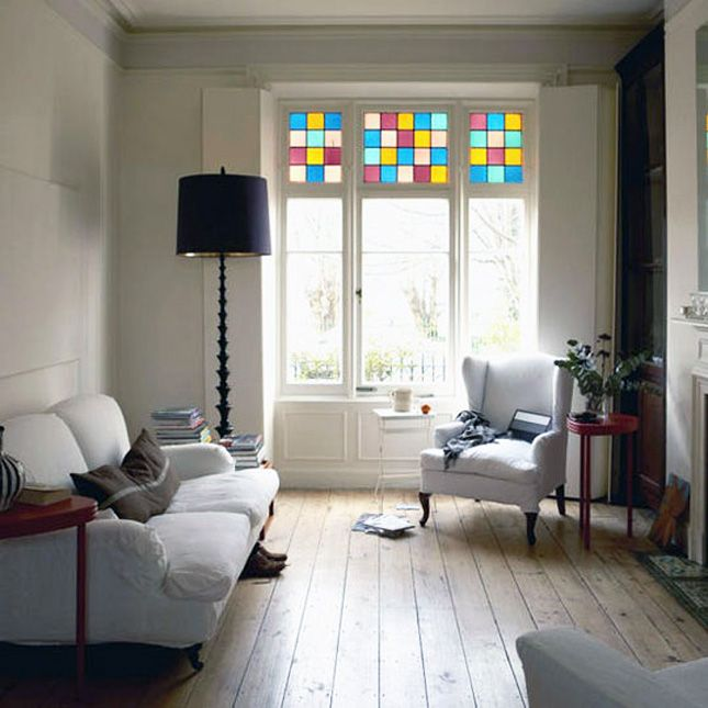 Ideas For The Dining Room Window! 10 Gorgeous Stained Glass Ideas For Your  Home Via Brit + Co.