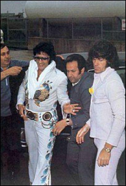 Elvis, Joe Esposito And Jerry Schilling