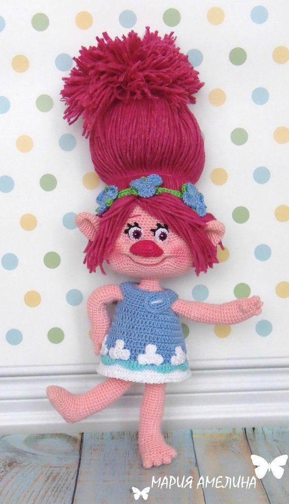 Poppy Amigurumi Crochet Pattern By Maria Amelina CRAFTS Adorable Trolls Crochet Pattern