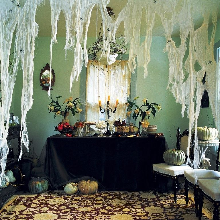 30 Indoor Halloween Decorations Ideas Indoor halloween decorations - indoor halloween decoration ideas