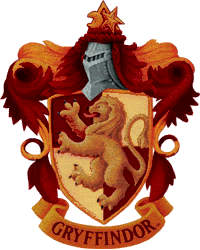 This Is A Color Gryffindor Badge That I Altered Colors On And Sharpened A Bit More There Is Also A Black And White Vers Gryffindor Badge Gryffindor Hogwarts