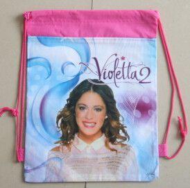 1pic school bags kids cartoon drawstring backpack& bag For kids bag back to school mochila infantil