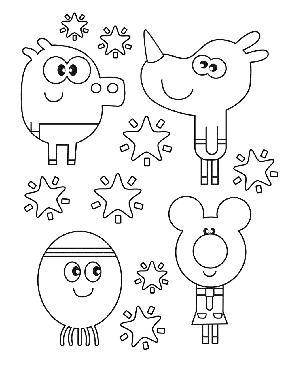 Hey Duggee Coloring Pages Getcoloringpages Com Coloring Pages Kids Coloring Books Printable Coloring