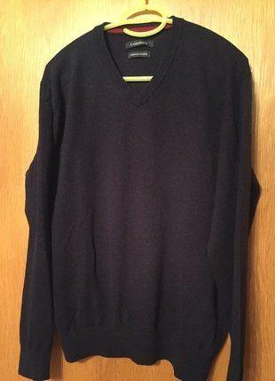 #c.comberti #Pullover #Herren #Herrenpullover #dunkelblau #dünn #V-Ausschnitt #Mode #Kleiderkreisel http://www.kleiderkreisel.de/herrenmode/v-ausschnitt/139680339-herren-pullover-von-ccomberti